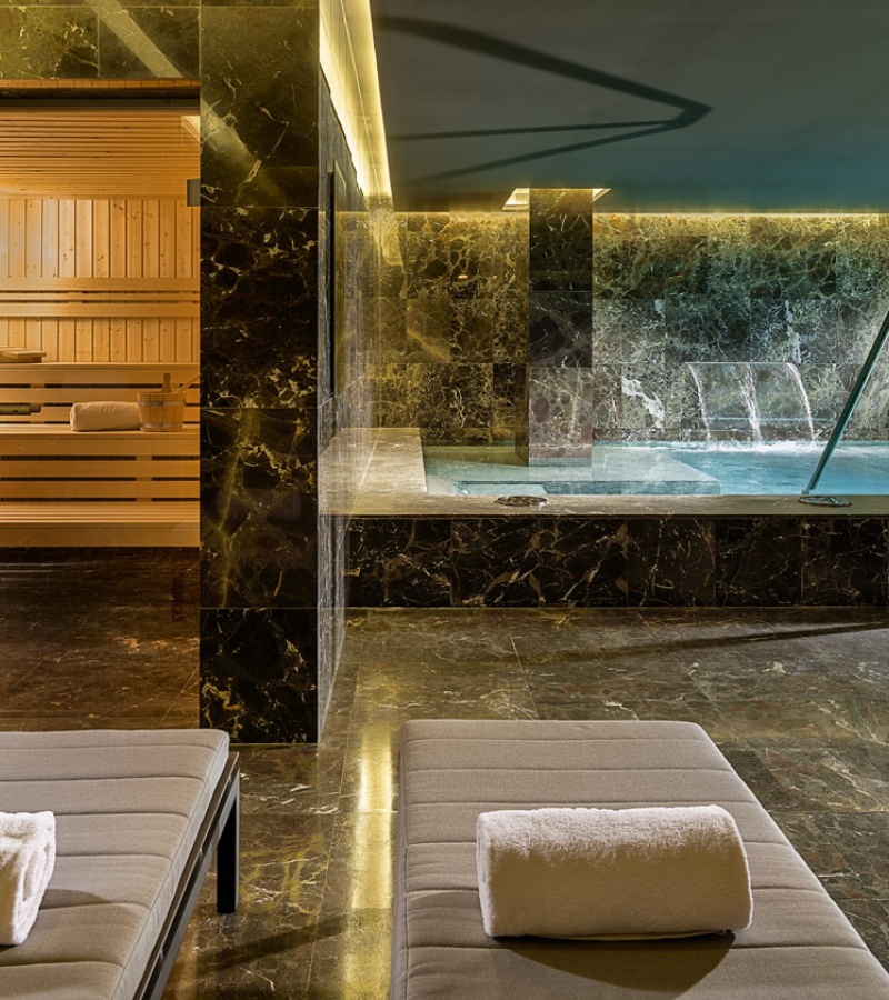 The One Barcelona: espectacular spa de Freixanet Wellness para H10 en plena urbe.