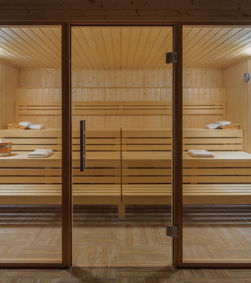 New custom sauna by Freixanet Wellness for the H10 Vintage Salou.