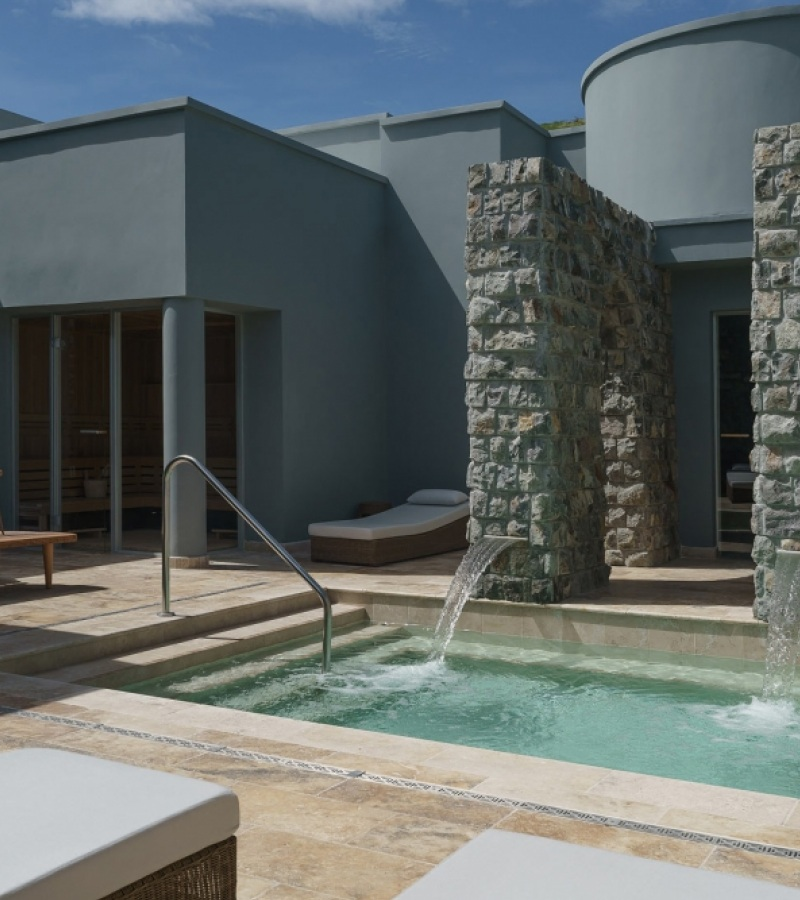 Freixanet Wellness installs new wellness areas in the exclusive spa at Park Hyatt St. Kitts Cristophe Harbour.