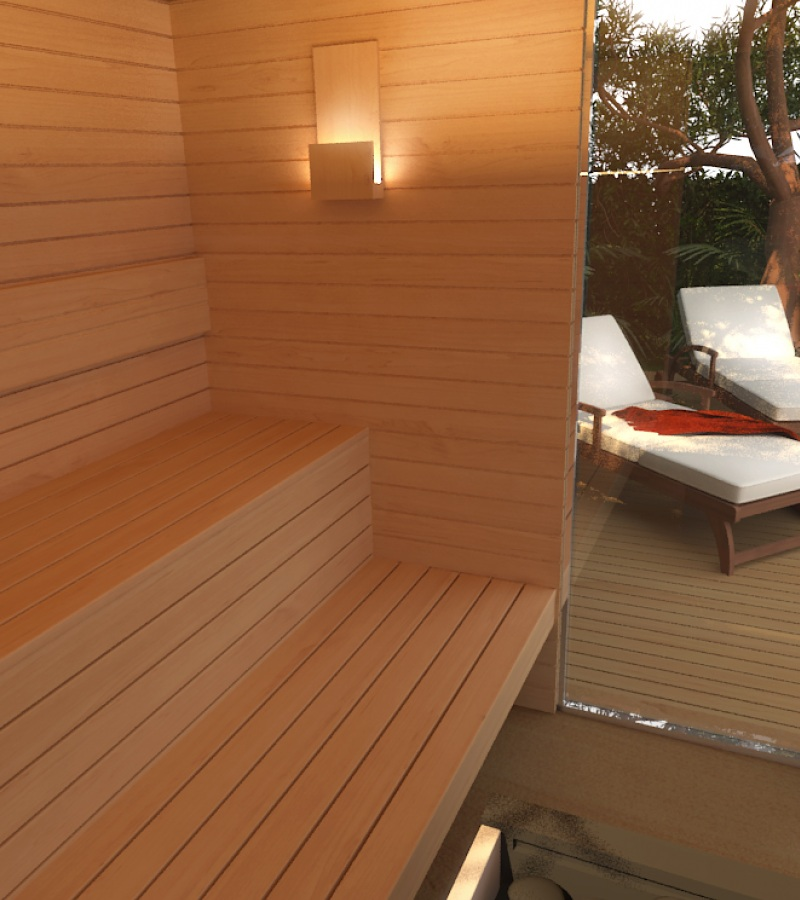 Freixanet Wellness reinvents the concept of outdoor saunas with the new YARD model.