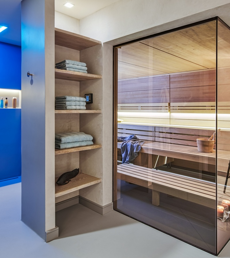 Tailor-made design saunas by Freixanet Wellness.