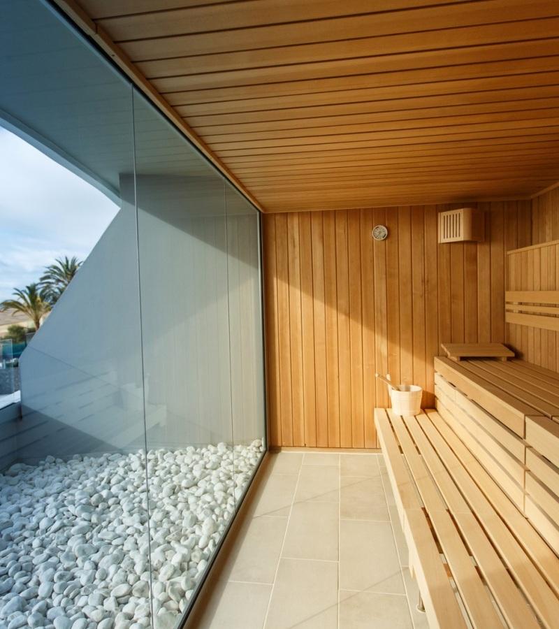 Saunas profesionales perfectas para reas wellness - Construccion de saunas ...