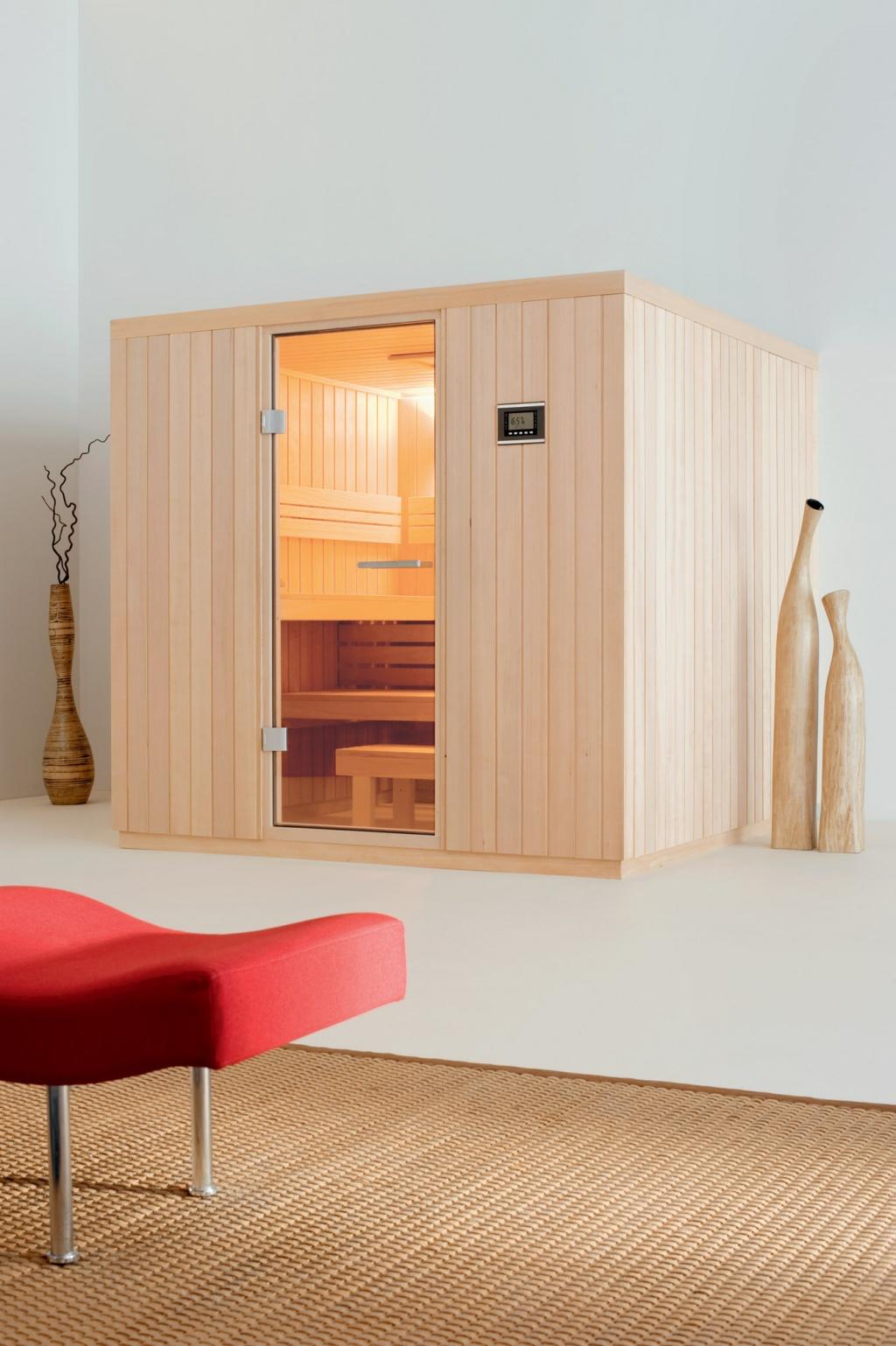 Sauna casual versatilidad y confort freixanet wellness - Productos para sauna ...